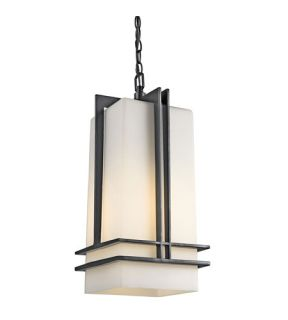 Tremillo 1 Light Outdoor Ceiling Lights in Black (Painted) 49205BKFL