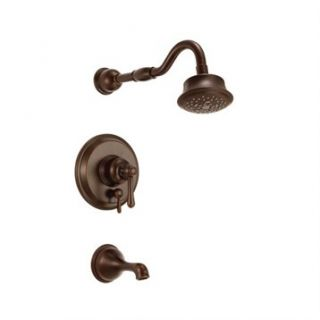 Danze Opulence Trim Only Single Handle Tub & Shower Faucet   Tumbled Bronze