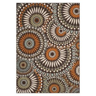 Safavieh Veranda Area Rug   Chocolate/Terracotta   (8x112)