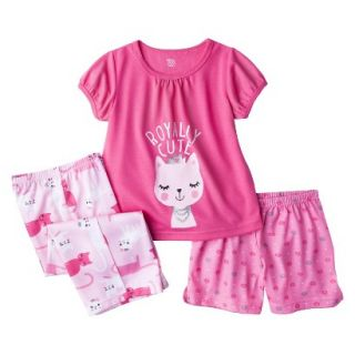 Just One You Made by Carters Infant Toddler Girls 3 Piece Royally Cute Pajama