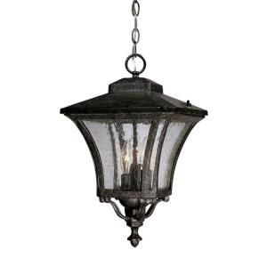 Acclaim Lighting Tuscan Collection Hanging 3 Light Outdoor Stone Lantern 6026ST
