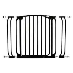 Dreambaby Chelsea Swing Closed Gate Combo Pack in Black L778B