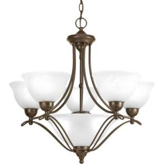 Progress Lighting Avalon Collection 5 Light Antique Bronze Chandelier P4069 20