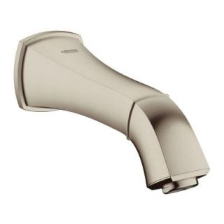 GROHE Grandera Wall Mount Low Arc Tub Spout in Brushed Nickel InfinityFinish 13342EN0