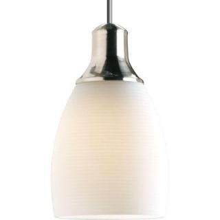 Progress Lighting Illuma Flex 1 Light Brushed Nickel Pendant P6177 09W