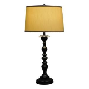Hampton Bay LaFitte Collection Oil Rubbed Bronze Table Lamp 18155 000