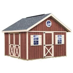 Best Barns Fairview 12 ft. x 12 ft. Wood Storage Shed Kit with Floor fairview_1212f