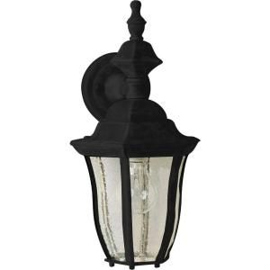 Filament Design Infinite Wall Mount 1 Light Outdoor Black Incandescent Lantern HD MA4966530