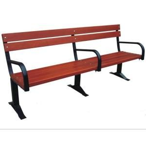 Parkland Heritage Commercial Bench with Back and Arm Rests CB203