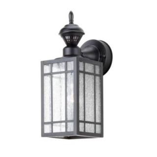 Heath Zenith Shaker Point Mission 150 Degree Outdoor Black Motion Sensing Lantern DISCONTINUED SL 4152 BK
