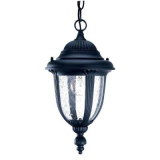 Acclaim Lighting Monterey Collection Hanging Lantern 1 Light Outdoor Matte Black Light Fixture 3512BK