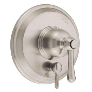 Danze Opulence Single Handle Pressure Balance Valve with Diverter in Brushed Nickel D500457BNT
