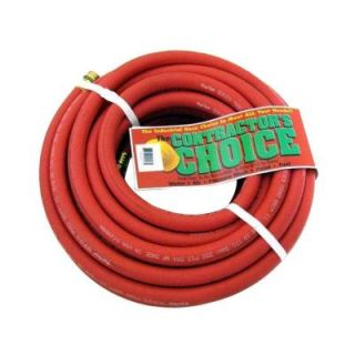 Endurance 5/8 in. x 50 ft. Red Rubber Garden Hose RGH5/8X50