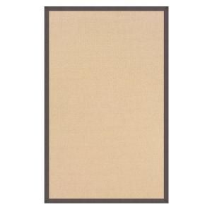 Linon Home Decor Athena Natural and Slate 8 ft. x 11 ft. Area Rug RUG AT010881