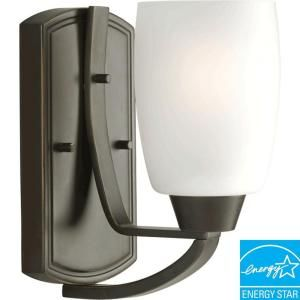 Progress Lighting Wisten Collection 1 Light Antique Bronze Fluorescent Bath Light P2794 20EBWB