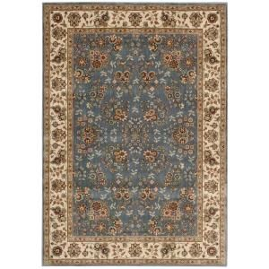 Nourison Persian Arts Light Blue 2 ft. x 3 ft. 6 in. Accent Rug 697363