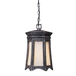 Acclaim Lighting Milano Collection Hanging Lantern 1 Light Outdoor Stone Light Fixture 1266ST
