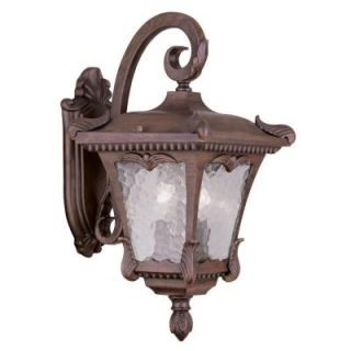 Filament Design Providence Wall Mount 2 Light Outdoor Imperial Bronze Incandescent Lantern CLI MEN7983 58