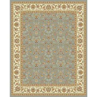 Safavieh Lyndhurst Light Blue/Ivory 8 ft. x 11 ft. Area Rug LNH312B 8