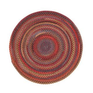 Capel Star Cardinal 5 ft. 6 in. Round Area Rug 008356550