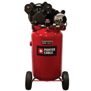 Porter Cable 30 Gal. Vertical Portable Air Compressor PXCMLC1683066