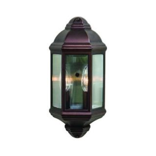 Acclaim Lighting Pocket Lantern Collection 2 Light Outdoor Architectural Bronze Wall Mount Light Fixture 6002ABZ