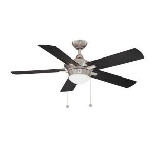 Hampton Bay Edgemont 52 in. Colonial Pewter Ceiling Fan YG177H CLP