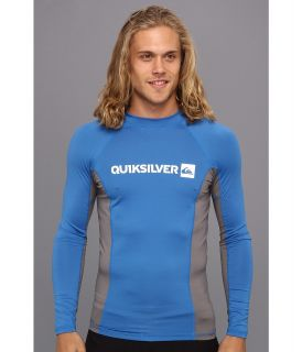 Quiksilver Prime L/S Surf Shirt Mens Swimwear (Blue)
