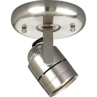 Progress Lighting Brushed Nickel 1 light Spotlight Fixture P6146 09WB