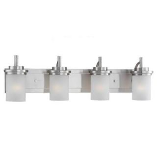 Sea Gull Lighting Winnetka 4 Light Brushed Nickel Vanity Fixture 44663 962