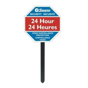 Swann Security Warning Yard Stake Sign SW276 YSS