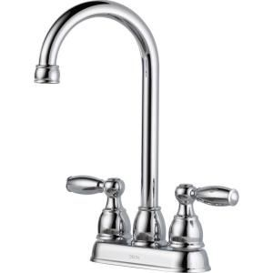 Delta Foundations 2 Handle Bar Faucet in Chrome B28911LF