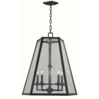 World Imports Bedford 5 Lights Glass Pendant WI613588