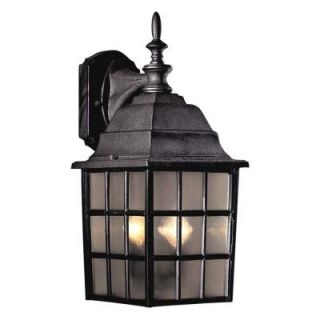 Minka Lavery Wall Mount 2 Light Outdoor Black Lantern 8718 66