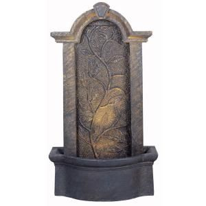 Kenroy Home Meadow Lighted Indoor and Outdoor 45 in. Floor Fountain 50770BH