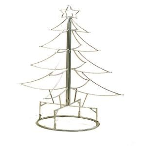 2.5 ft. Silver Metal Christmas Tree XMAS404X