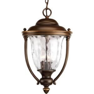 Progress Lighting Prestwick Collection Hanging Mount 3 Light Outdoor Oil Rubbed Bronze Lantern P5584 108