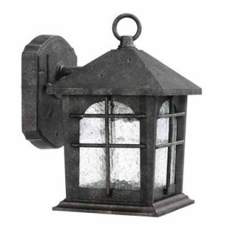 Home Decorators Collection Brimfield Outdoor Aged Iron Wall Lantern HB48023PA 151