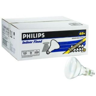 Philips 65 Watt Incandescent  BR30 Indoor Flood Light Bulb (24 Pack) 429472