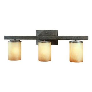 Hampton Bay Alta Loma 3 Light Dark Ridge Bronze Bath Light 25056