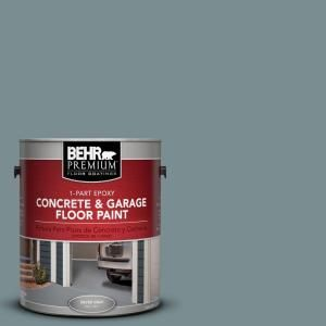 BEHR Premium 1 Gal. #PFC 53 Leisure Time 1 Part Epoxy Concrete and Garage Floor Paint 93001