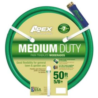 Apex 5/8 in. x 50 ft. Medium Duty Garden Hose 8535 50