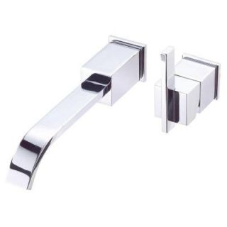 Danze Sirius Single Handle Wall Mount Lavatory Faucet Trim Only in Chrome D216044T