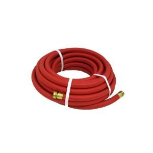 Endurance 3/4 in. x 75 ft. Red Rubber Garden Hose RGH3/4X75