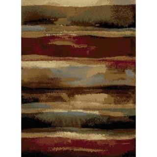 Tayse Rugs Festival Multi 5 ft. 3 in. x 7 ft. 3 in. Contemporary Area Rug 8900  Multi  5x8