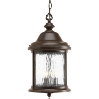 Progress Lighting Ashmore Collection 3 Light Antique Bronze Hanging Lantern P5550 20