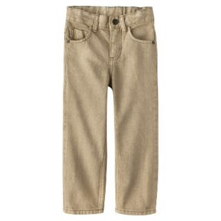 Genuine Kids from OshKosh Infant Toddler Boys Jean   Khaki 12 M