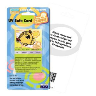 Hallcrest Little Miss Sunshine UV Card   4 pack