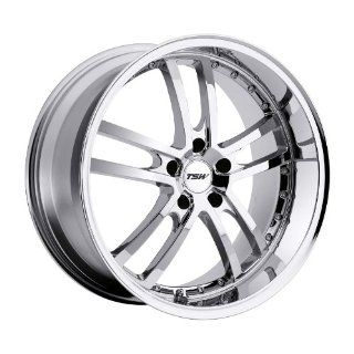 TSW Cadwell 19 Chrome Wheel / Rim 5x112 with a 45mm Offset and a 72 Hub Bore. Partnumber 1980CAD455112C72 Automotive