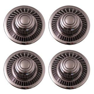 "Set of 4 Replacement Aftermarket Rally Derby Center Caps Hub Cover Fits 15"" Wheel   Part Number IWCC2030 Automotive"